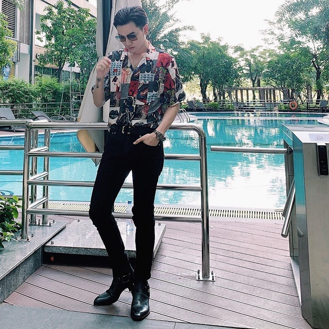 Khi mac do hoa tiet, Tran Thanh va Soobin Hoang Son phoi the nao? hinh anh 6