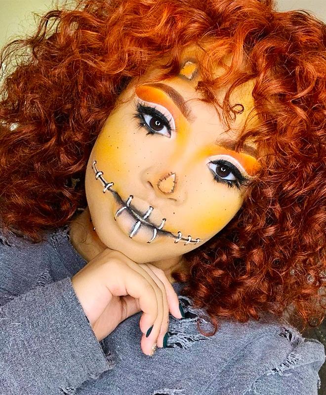 Trang diem Halloween anh 3