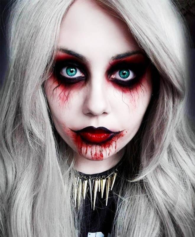 Trang diem Halloween anh 7