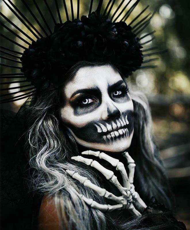 Trang diem Halloween anh 8