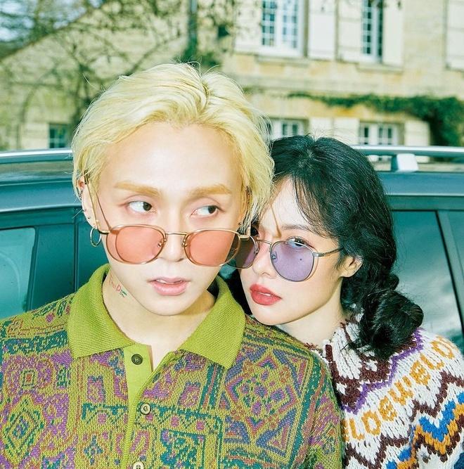 HyunA va E'Dawn: Gu thoi trang khac biet tao nen su hoan hao hinh anh 1