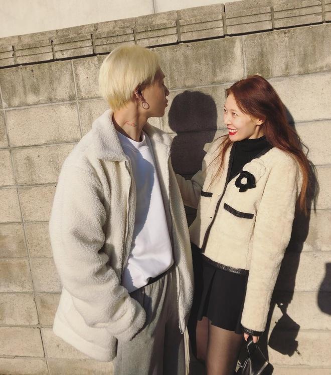 HyunA va E'Dawn: Gu thoi trang khac biet tao nen su hoan hao hinh anh 4