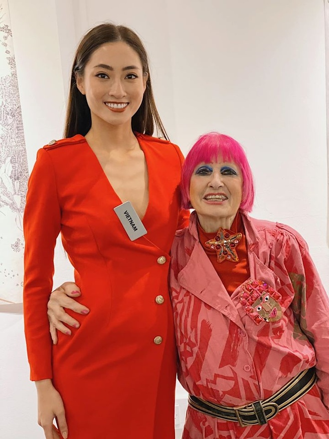 Tham gia Miss World, Hoa hau Luong Thuy Linh da chon vay ao the nao? hinh anh 3 LTL4.jpg