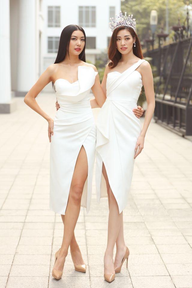 Top 3 Hoa hau Hoan Vu Viet Nam mac do giong cot den giao thong hinh anh 5 Top5.jpg