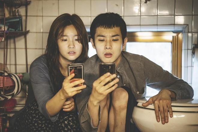 Nu chinh phim 'Ky sinh trung' van thu hut du chuong do mau den trang hinh anh 1 Park0.jpg