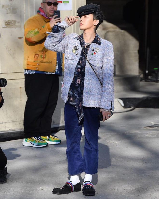 G-Dragon, Nana Komatsu mac dep lan at dan sao ngoai tai show Chanel hinh anh 2 CN2.jpg