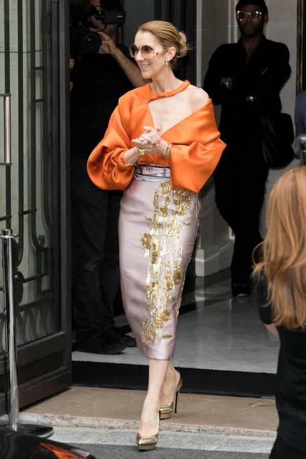 Celine Dion voi gu an mac tre trung anh 6