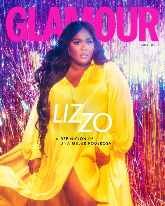 Nu rapper My dien vay mau vang cua Cong Tri khi len bia tap chi hinh anh 1 Cover_Glamour_Magazine.jpg