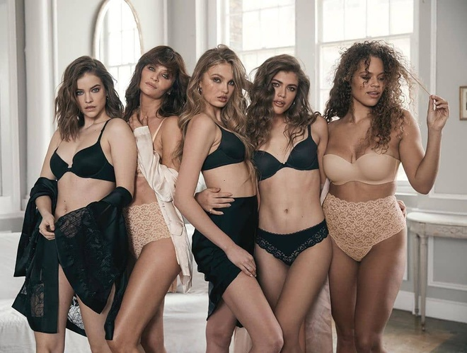 Victoria's Secret hop tac voi thien than noi y U60 de cuu vot doanh so hinh anh 1 VS1.jpg