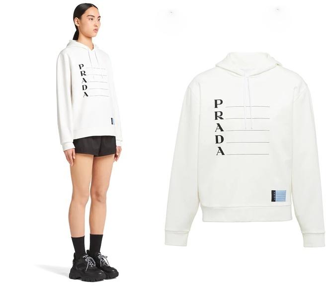 Day la chiec ao hoodie khien HyunA, Trinh Sang deu thich mac hinh anh 1 Prada0.jpg