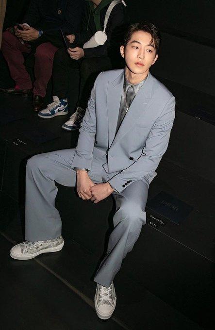 Nam Joo Hyuk mac do Dior anh 5