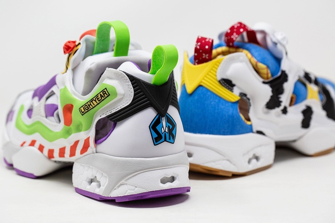 Reebok ket hop Toy story anh 2