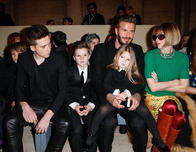 David Beckham bo du show thoi trang anh 1