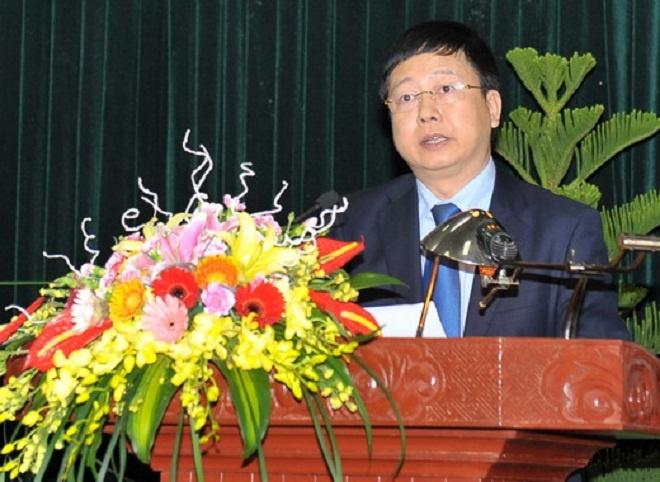 Hai Duong co tan Chu tich UBND tinh hinh anh 1 Tân Chủ tịch UBND tỉnh Hải Dương Nguyễn Dương Thái. Ảnh: Báo Hải Dương