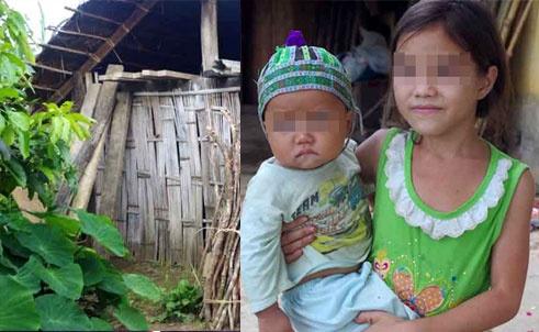 'Ma ngon' tren dat Tay Nguyen hinh anh 2 Ngôi nhà vắng lặng của gia đình anh Thào Văn Vàng và chị em cháu Thào Thị Máy