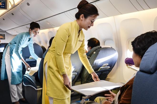 Vietnam Airlines thu nghiem dong phuc moi hinh anh 1 Đồng phục