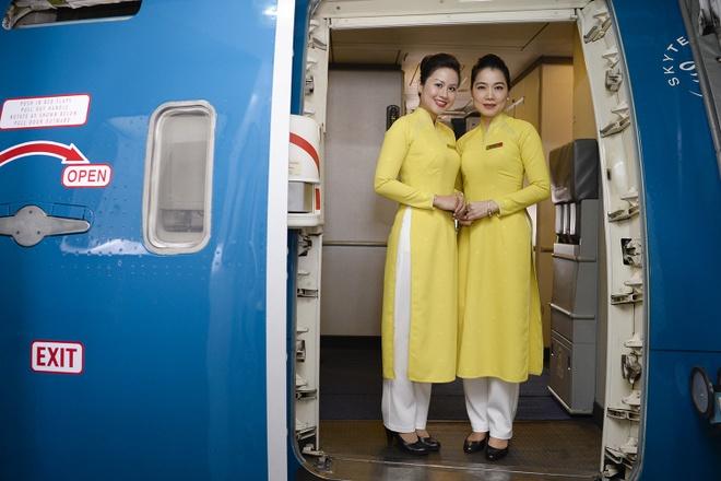 Vietnam Airlines thu nghiem dong phuc moi hinh anh 2 Đồng phục
