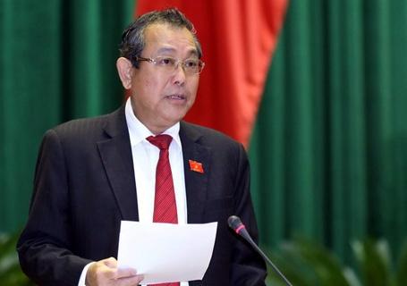 'Ho Duy Hai van nhan toi, chi xin giam an' hinh anh 1 Ông Trương Hòa Bình cho biết chưa có căn cứ kháng nghị vụ Hồ Duy Hải