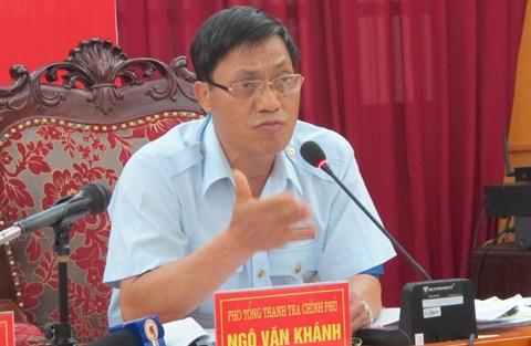 Cong an Ha Noi tam giu mot can bo Thanh tra Chinh phu hinh anh 1