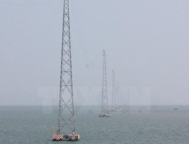 Đường dây 110kV vượt biển dài nhất Việt Nam tại Kiên Giang