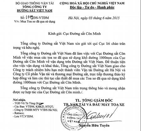 Hop ky luat Tong giam doc xin mua toa tau cu cua Trung Quoc hinh anh 1