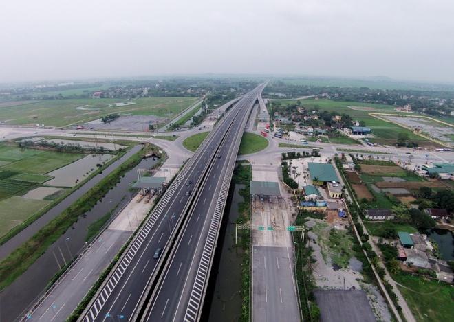 Nang toc do cao toc Cau Gie - Ninh Binh len 120 km/h hinh anh