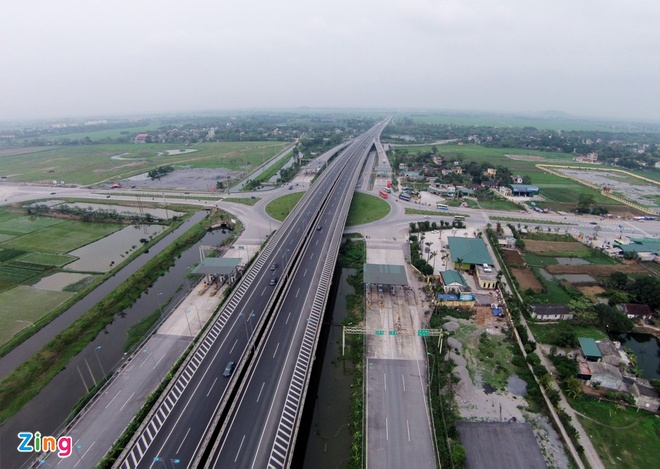 Nang toc do cao toc Cau Gie - Ninh Binh len 120 km/h hinh anh 1