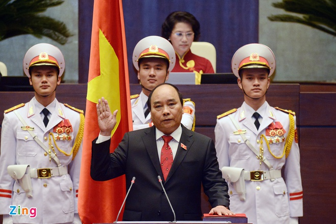 Ong Nguyen Xuan Phuc lam Thu tuong hinh anh 1