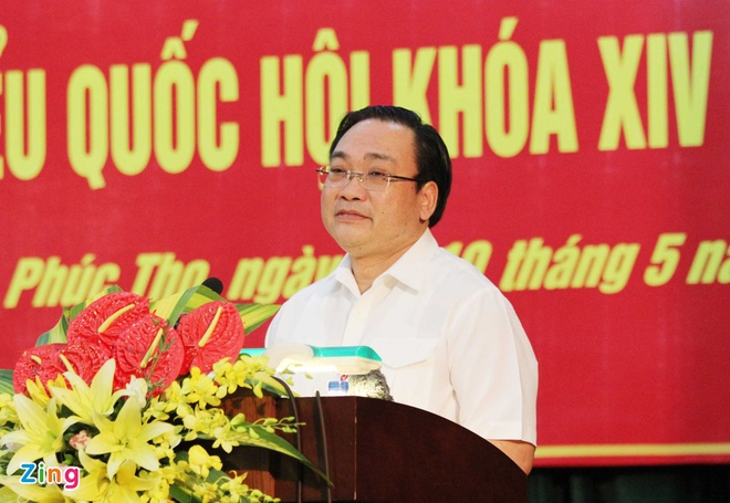 Bi thu Ha Noi: Khong de nguoi than lam an phi phap hinh anh 1