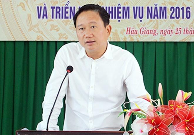 Xem xet ky luat ong Trinh Xuan Thanh hinh anh 1