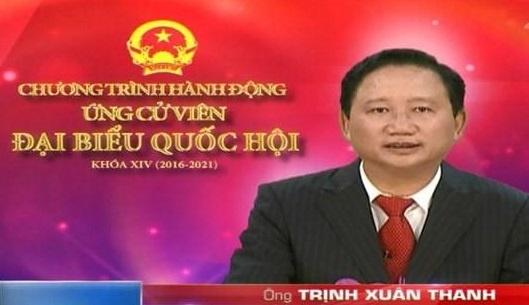 Huy tu cach dai bieu Quoc hoi cua ong Trinh Xuan Thanh hinh anh