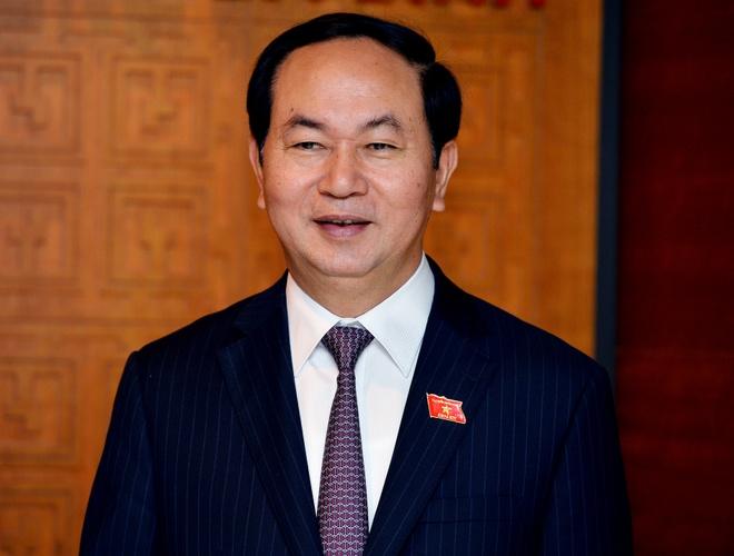 Ong Tran Dai Quang tai dac cu Chu tich nuoc hinh anh 1