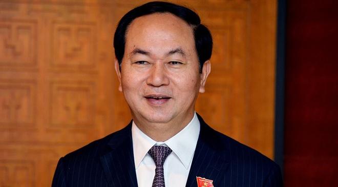 Ong Tran Dai Quang tai dac cu Chu tich nuoc hinh anh