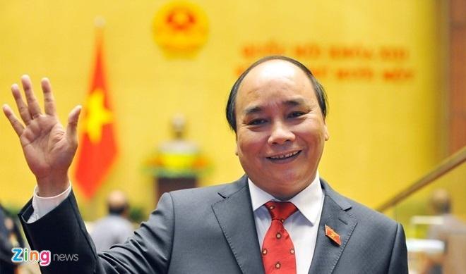 Thu tuong Nguyen Xuan Phuc duoc gioi thieu tai cu hinh anh