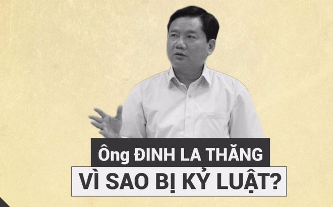 Vi sao Uy vien Bo Chinh tri Dinh La Thang bi ky luat? hinh anh