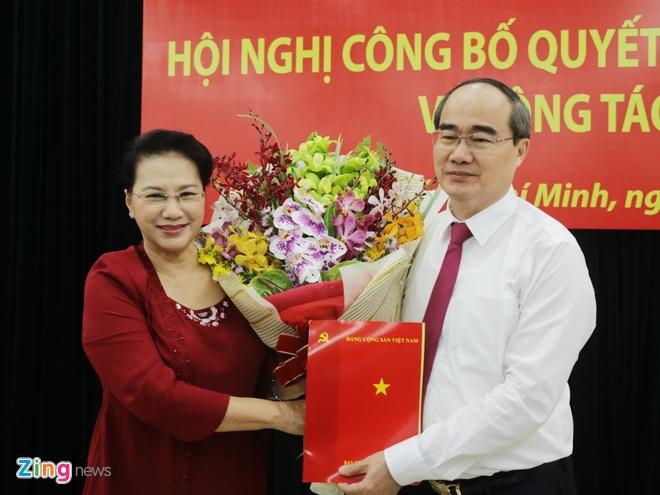 Tan bi thu TP.HCM Nguyen Thien Nhan anh 1