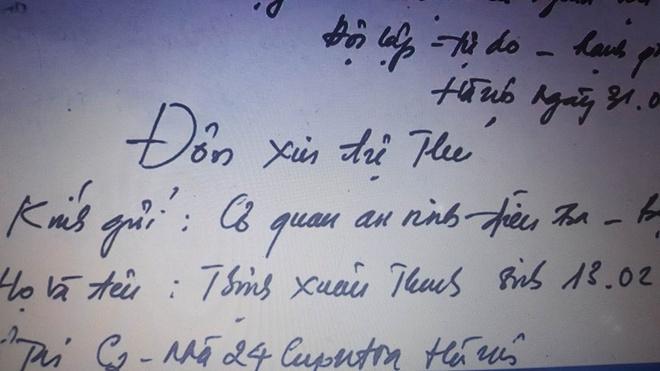 Trinh Xuan Thanh: Toi ve dau thu de doi dien voi su that hinh anh 2