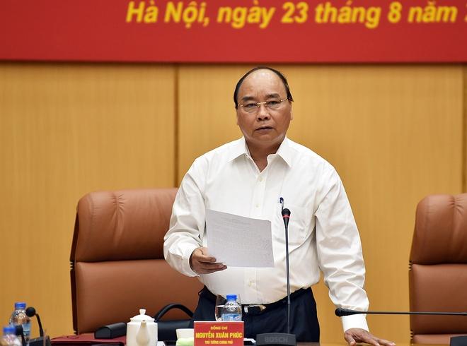 Thu tuong chu tri Hoi nghi Ban Chi dao Trung uong ve khu vuc phong thu hinh anh