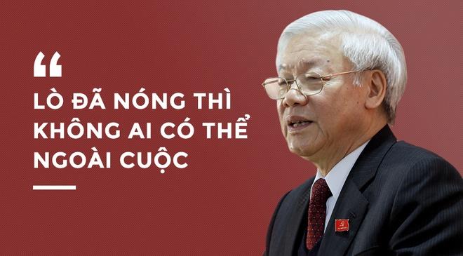 Tong bi thu: 'Lo da nong thi khong ai co the ngoai cuoc' hinh anh