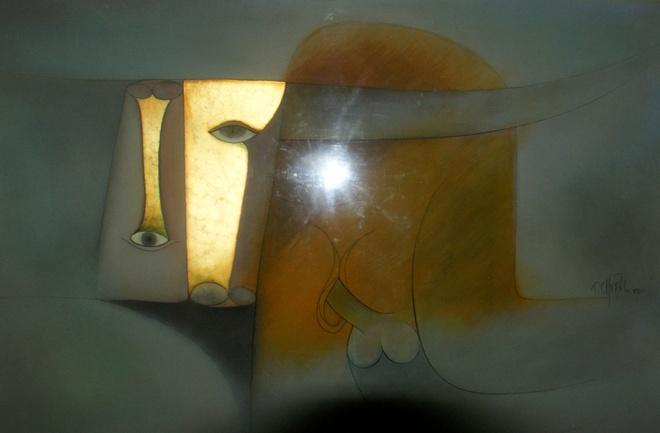 Bay tranh goi tinh ben canh phong tranh ve Dien Bien Phu hinh anh 3 Tác phẩm