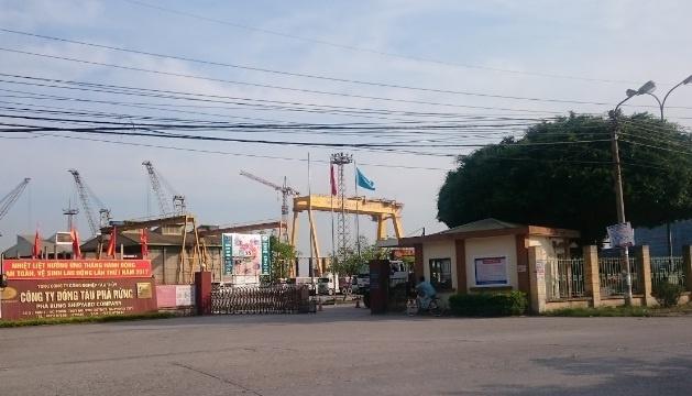 4 cong nhan bong nang sau vu no lon tai cong ty dong tau o Hai Phong hinh anh 1