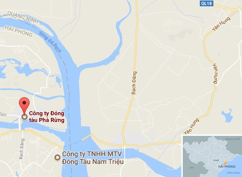 4 cong nhan bong nang sau vu no lon tai cong ty dong tau o Hai Phong hinh anh 2
