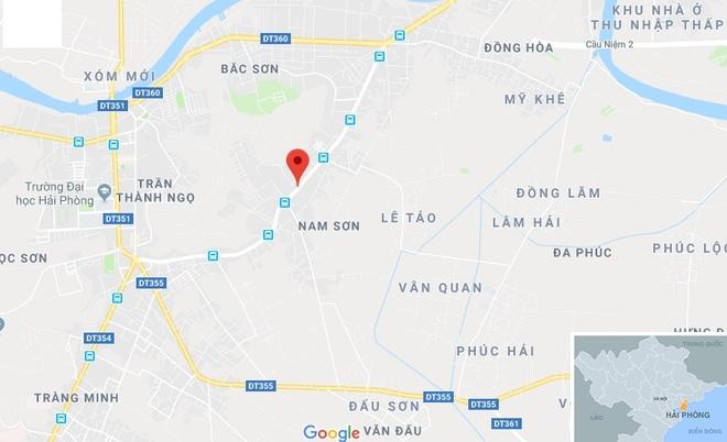 Truy bat ke giet nguoi luc rang sang o Hai Phong hinh anh 1