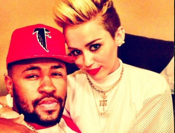 Miley Cyrus hen ho nha san xuat am nhac? hinh anh