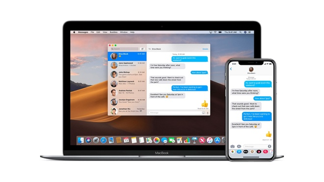 Apple nang cap iMess,  Apple khai thu iMessage,  Apple ra mat Catalyst anh 1