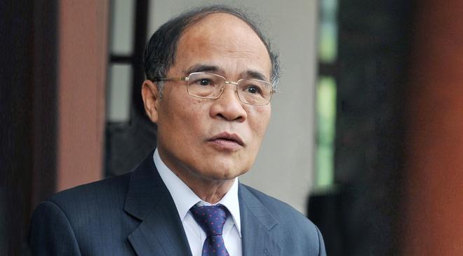Ong Nguyen Sinh Hung thoi chuc Chu tich Quoc hoi hinh anh