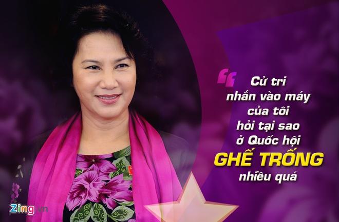 9 phat ngon an tuong cua ba Nguyen Thi Kim Ngan hinh anh