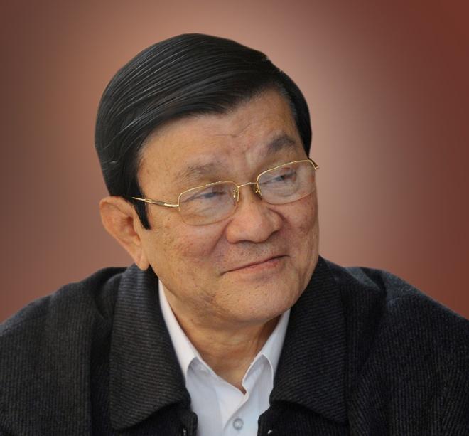 Ong Truong Tan Sang thoi chuc Chu tich nuoc hinh anh