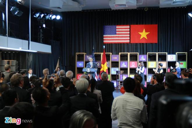 Tong thong Obama doi thoai voi gioi startup Viet hinh anh 9