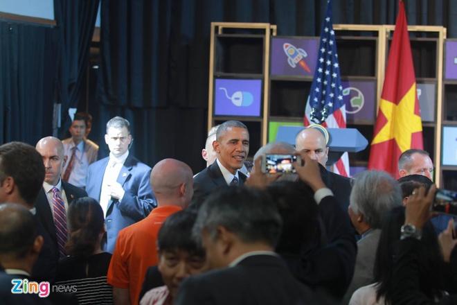 Tong thong Obama doi thoai voi gioi startup Viet hinh anh 14